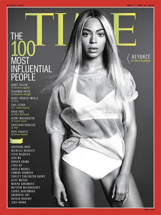 Beyonce graces the cover of TIME Magazine