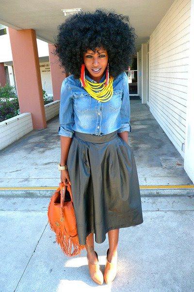 black girl afro2
